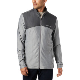 Columbia Maxtrail Fleece Midlayer Herren city grey/shark